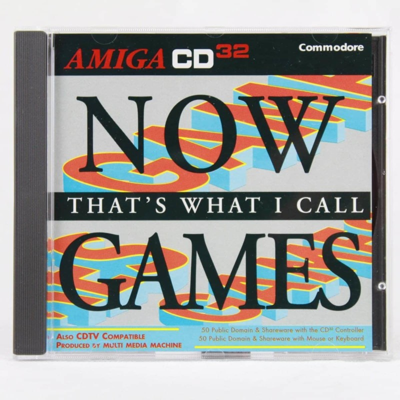 Now That's What I Call Games (Amiga CD32)