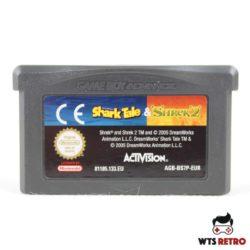 Shark Tale & Shrek 2 (Game Boy Advance)