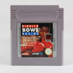 Riddick Bowe Boxing (Game Boy)