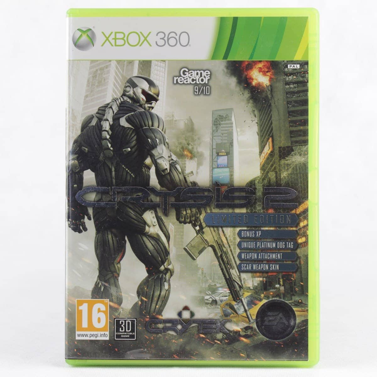 Crysis 2: Limited Edition (Xbox 360)