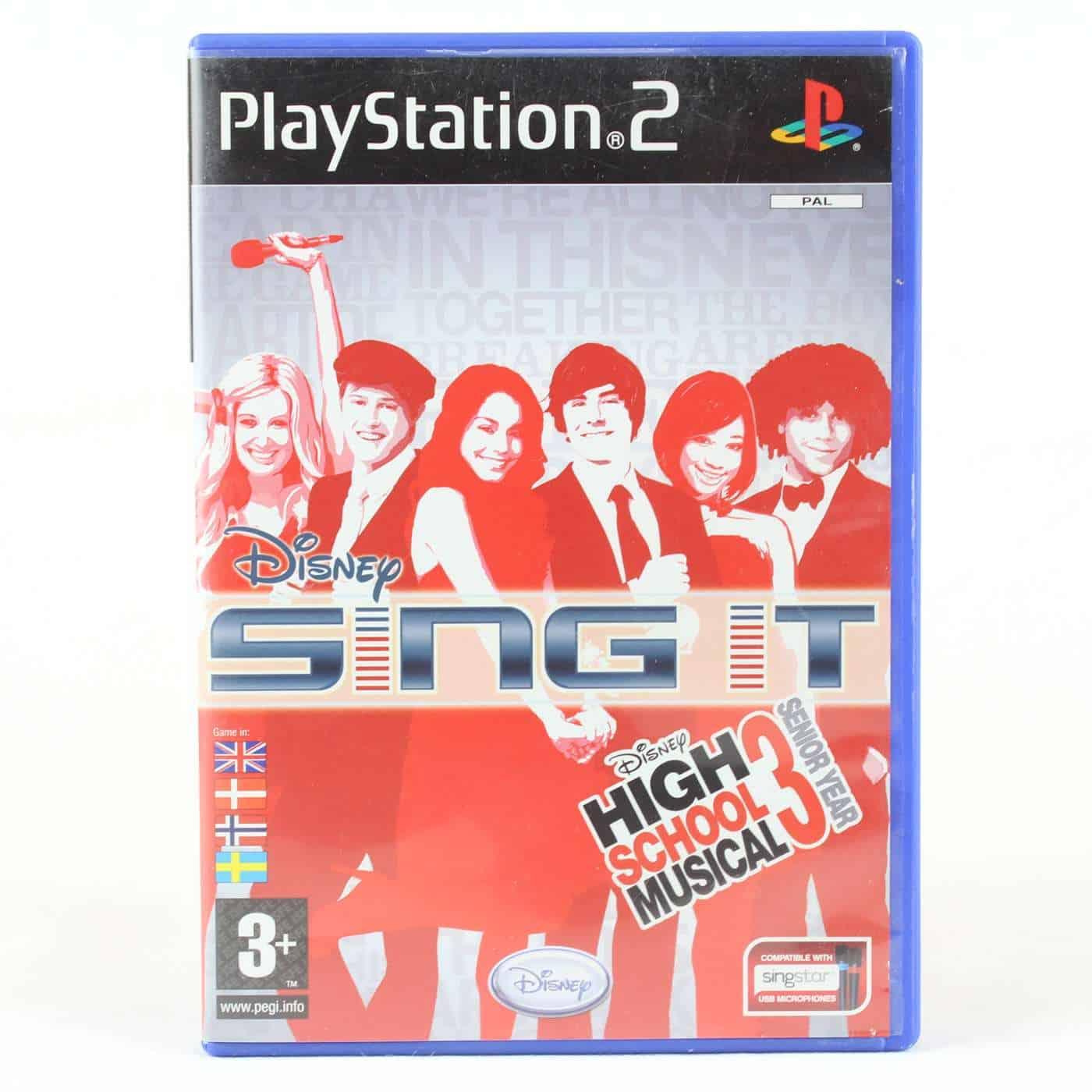 Disney Sing It: High School Musical 3 - Senior Year (Playstation 2)