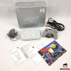 PSone Konsol (Boxed) m. kabler og controller