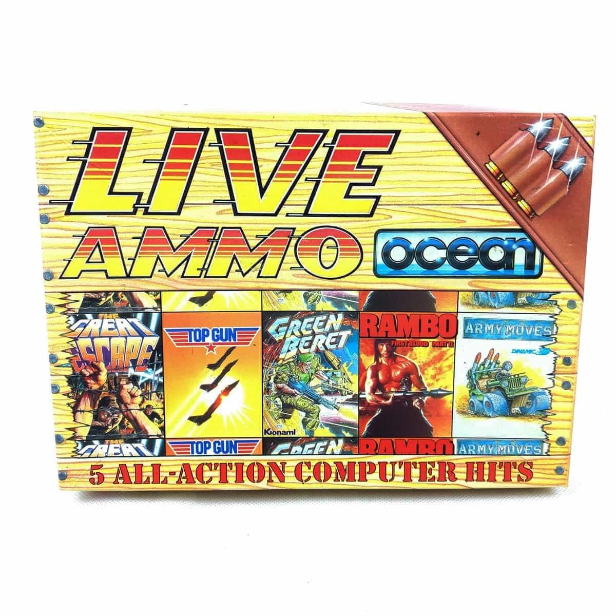 Live Ammo (C64 Cassette) bånd mangler