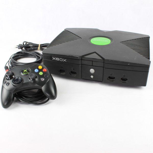 Xbox Konsol m. 1 Controller og alle kabler