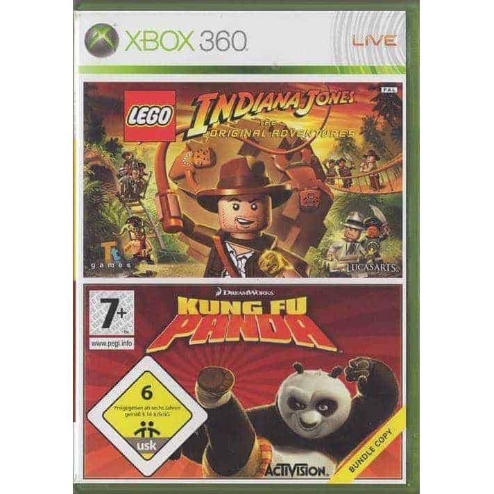 LEGO Indiana Jones and the Original Adventures + Kung Fu Panda