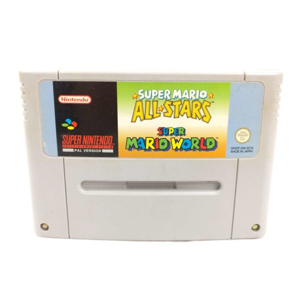 Super Mario All-Stars + Super Mario World (SNES, SCN)