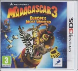 Madagascar 3: Europe's Most Wanted (Nintendo 3DS)