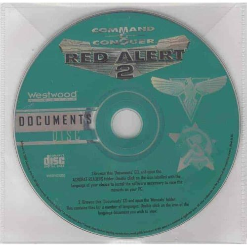 Command & Conquer: Red Alert 2 - Documents Disc
