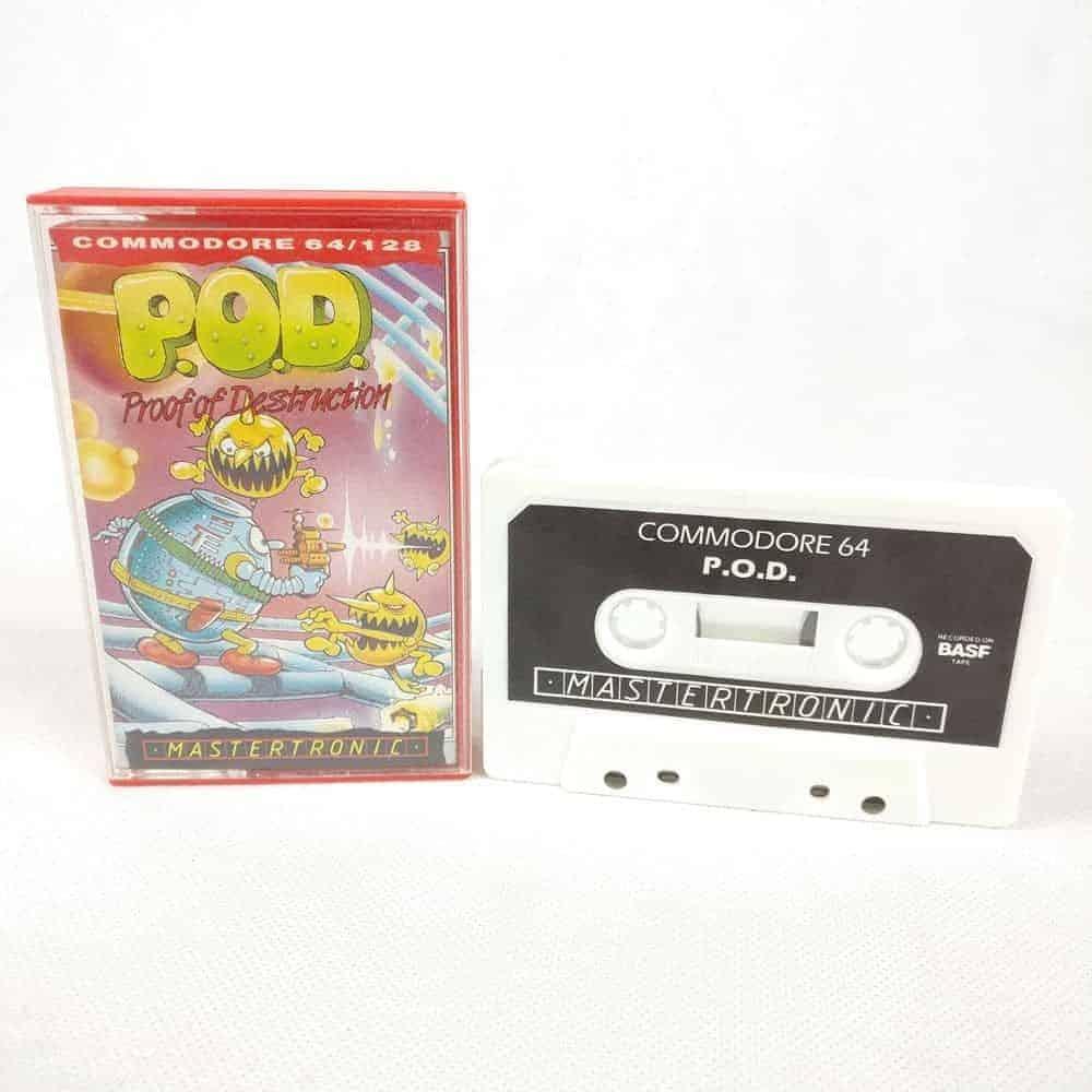 P.O.D.: Proof of Destruction (Commodore 64 Cassette)