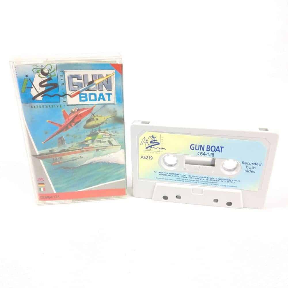 Gun Boat (Commodore 64 Cassette)
