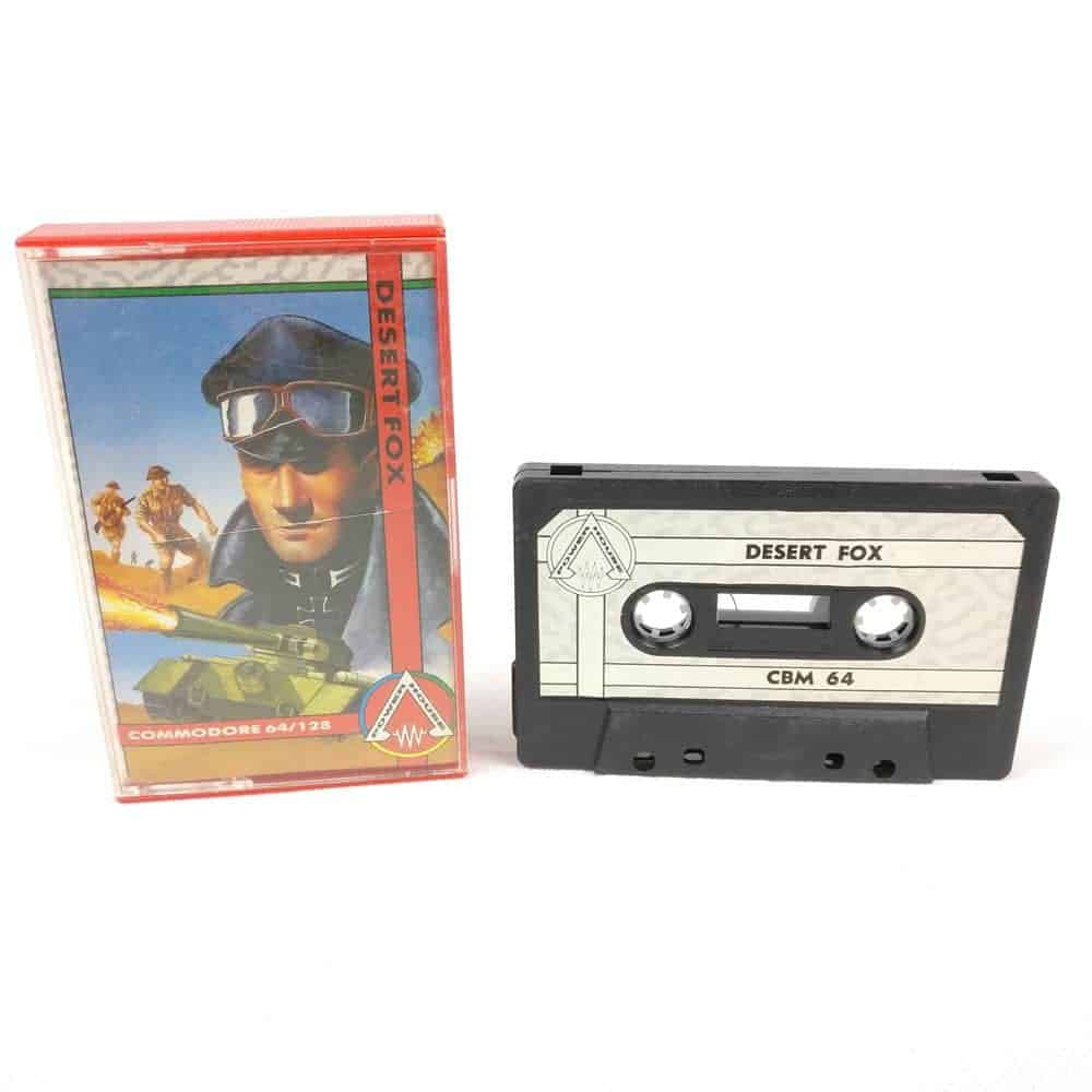 Desert Fox (Commodore 64 Cassette)