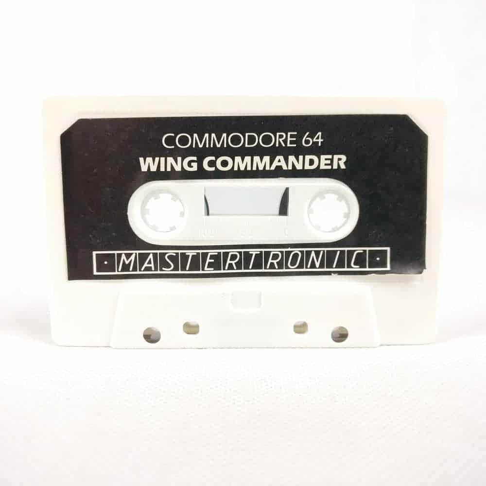 Wing Commander (Commodore 64 Cassette)