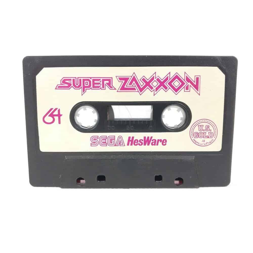 Super Zaxxon (Commodore 64 Cassette)