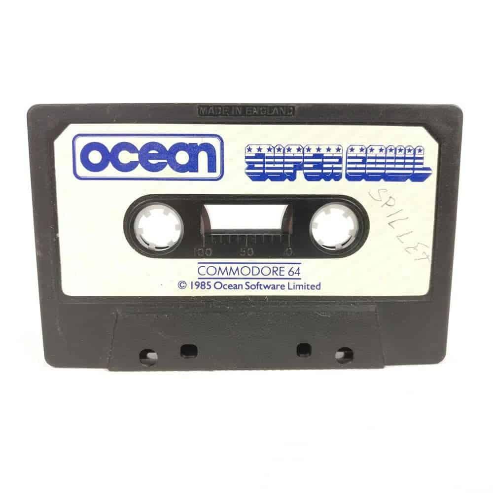 Super Bowl (Commodore 64 Cassette)