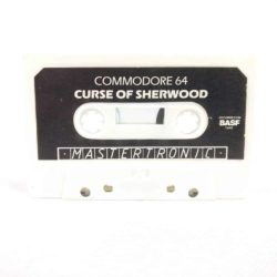 Curse of Sherwood (Commodore 64 Cassette)