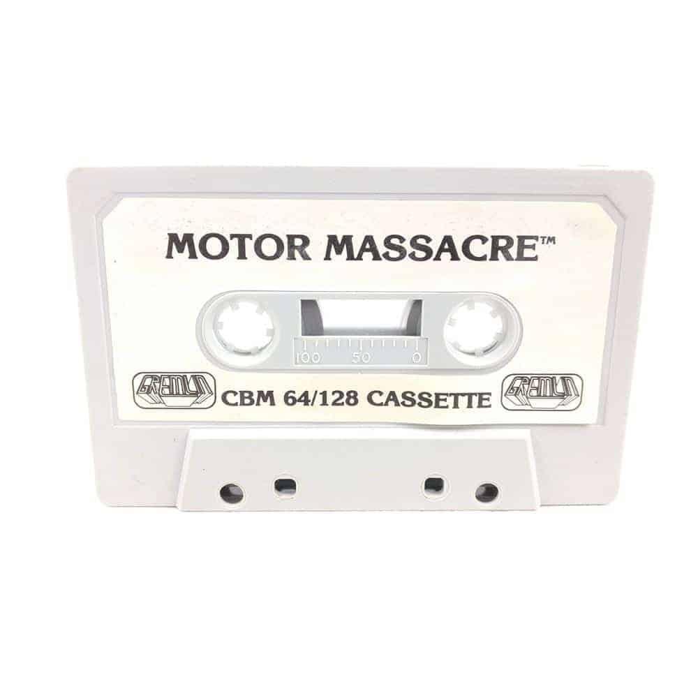 Motor Massacre (Commodore 64 Cassette)