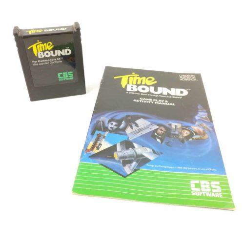 Time Bound inkl. manual (C64 Cartridge)
