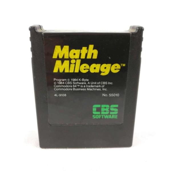 Math Milage (C64 Cartridge)
