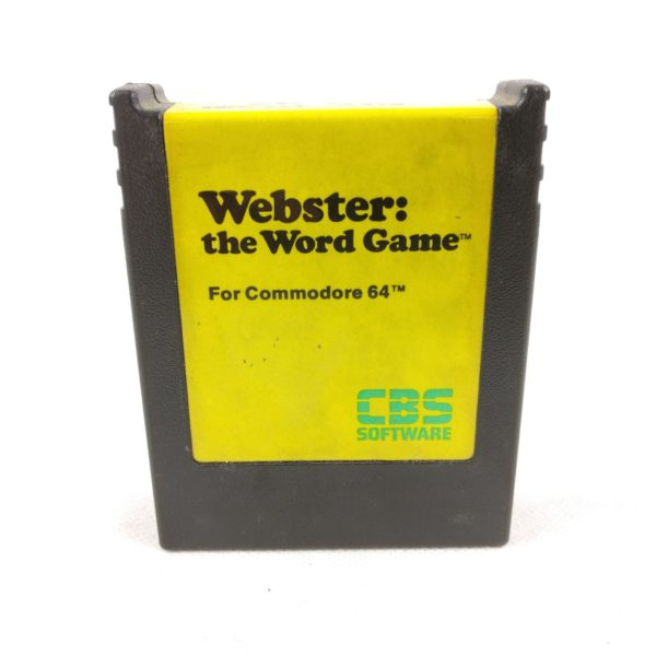 Webster: The Word Game (C64 Cartridge)