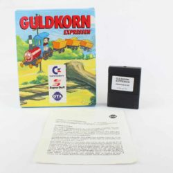 Guldkorn Expressen (C64 Cartridge - Boxed)