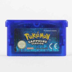 Pokémon Sapphire Version (Game Boy Advance)
