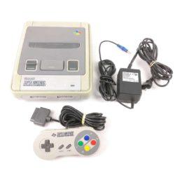 Super Nintendo Konsol m. 1 Gamepad (SNES)