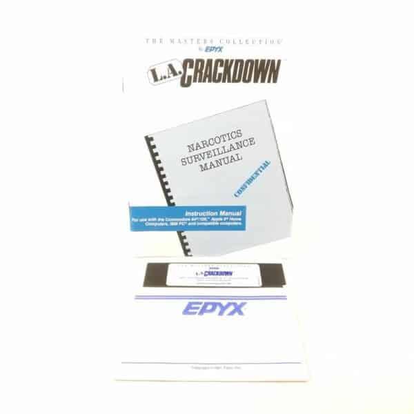 L.A. Crackdown (Commodore 64 - Disk)