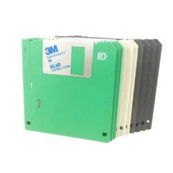 10 stk 1.44MB Floppy Disk (brugte og formateret)