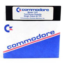 Commodore Model 1541 Test/Demo Diskette (C64 - Disk)