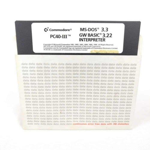Commodore PC40-III MS-DOS 3.30 (Commodore - Disk)