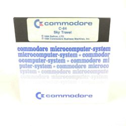 Sky Travel (Commodore 64 - Disk)