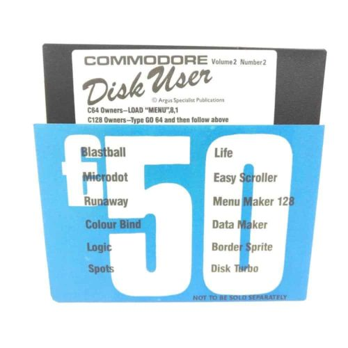 Commodore Disk User - Volume 2 - Number 2 (Commodore 64 - Disk)