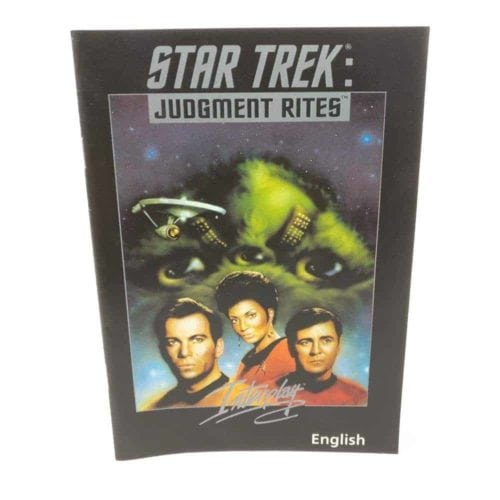 Star Trek: Judgment Rites (PC Big Box manual)
