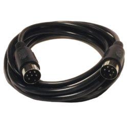 Serial kabel til Commodore Diskettedrev eller Printer - 1.4m (Brugt)