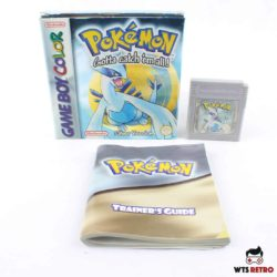 Pokémon Silver Version (Game Boy Color - Boxed - CIB)