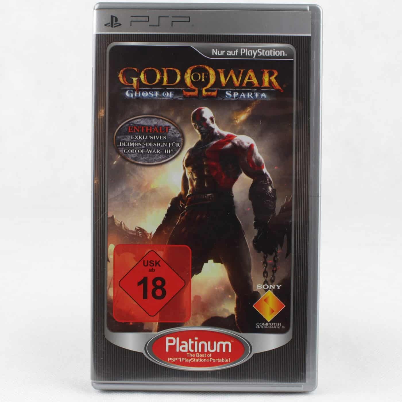 God of War: Ghost of Sparta (Sony PSP - Platinum - Tysk)