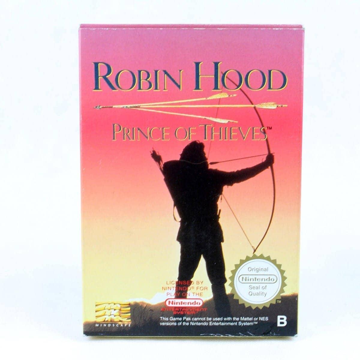 Robin Hood: Prince of Thieves (Nintendo NES, CIB, PAL-B, ESP)
