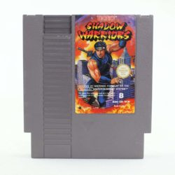 Shadow Warriors (Nintendo NES, PAL-B, SCN)