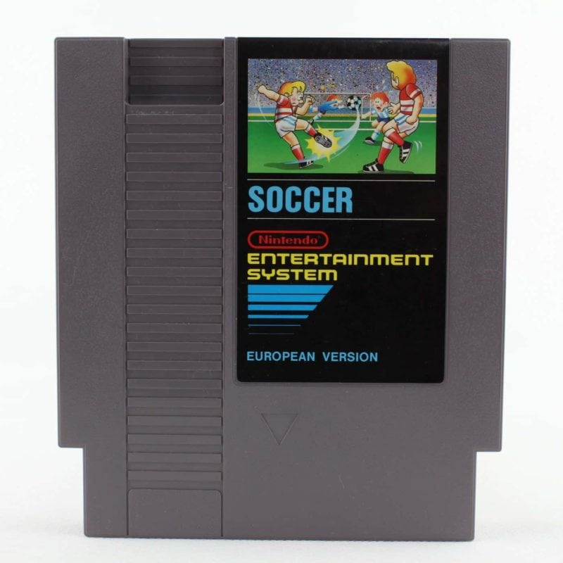 Soccer (Nintendo NES, PAL-B, EUR)