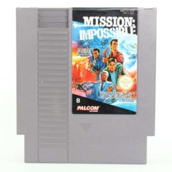 Mission: Impossible (Nintendo NES, PAL-B, SCN)