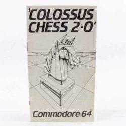 Colossus Chess 2∙0 (Commodore 64 manual)