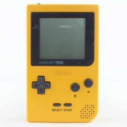 Game Boy Pocket (Gul)