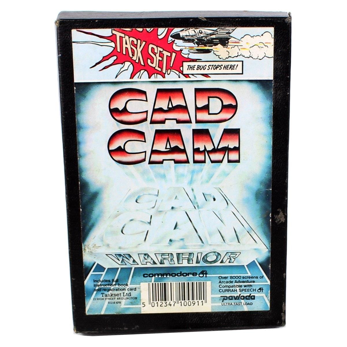 Cad Cam Warrior (C64 Cassette)