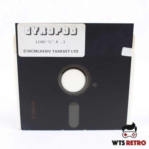 Gyropod (Commodore 64 - Disk)