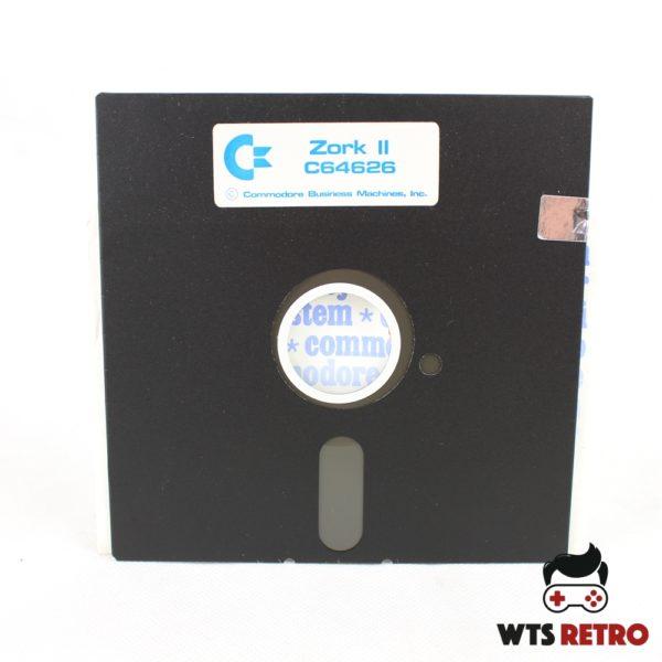 Zork II: The Wizard of Frobozz (Commodore 64 - Disk)