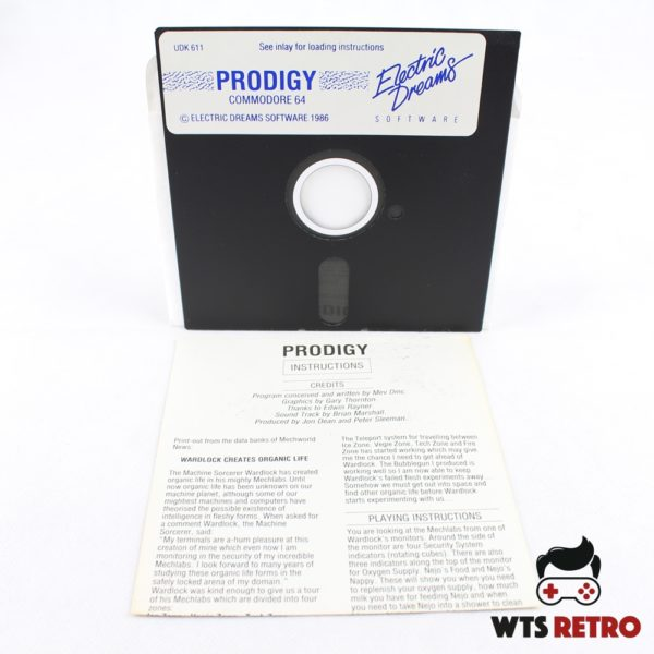 Prodigy (Commodore 64 - Disk)