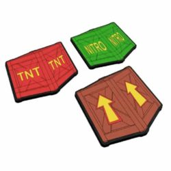 Crash Bandicoot Crate Coasters / Ølbrikker
