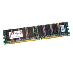Kingston 256MB DDR400 RAM PC3200U - KVR400X64C3A/256