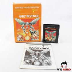 Yars' Revenge (Atari 2600 - Boxed)