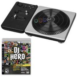 DJ Hero Turntable + DJ Hero spil